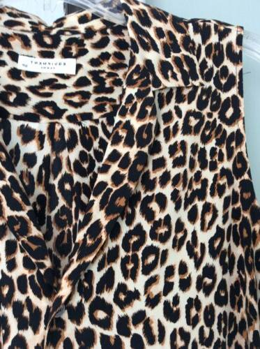 New Small Top...Leopard Print