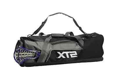 new lacrosse stick equipment bag black challenger