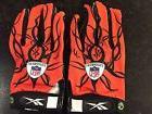 Reebok NFL Equipment Football Griptonite Gloves Orange/Black