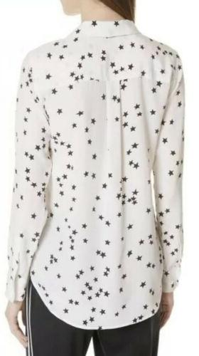 NWOT Silk White/ Black Size $280