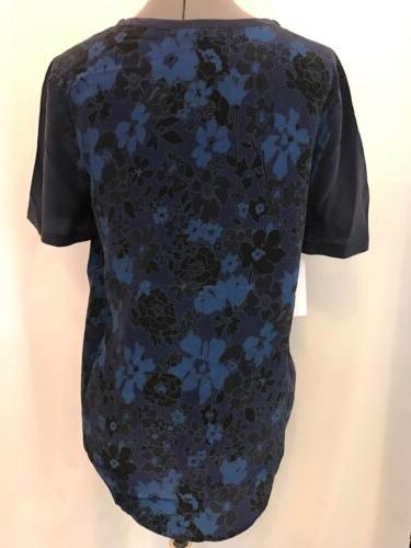NWT Equipment Riley Silk Tee Size S Short
