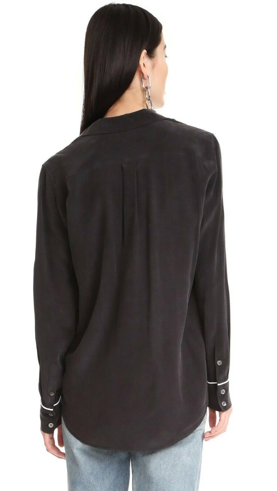 NWT Equipment Shirt Black Size
