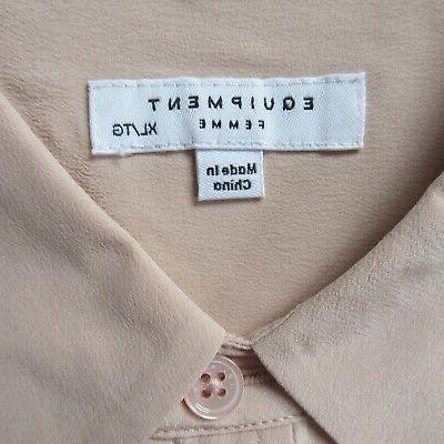 NWT in French Nude Button Down $230