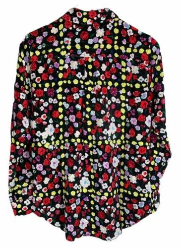 NWT Womens Floral Signature Sleeve Small $278.00