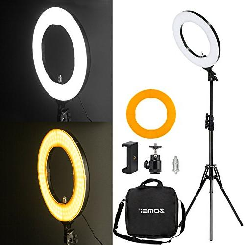 outer dimmable smd ring light