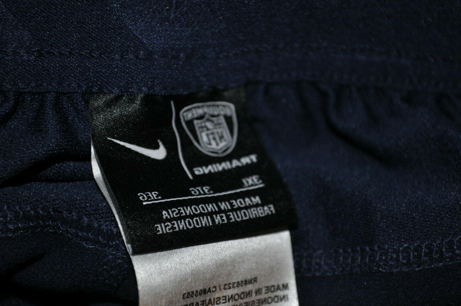 Nike NFL Equipment Pants Navy 3XL -4XL