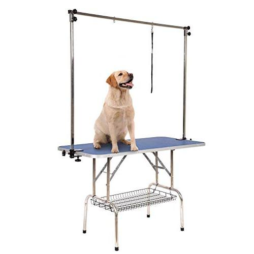 Dog Heavy Foldable with Adjustable Rubber 30-Inch, Up to