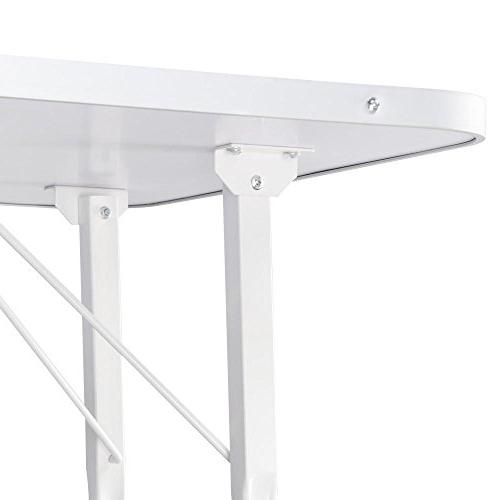 Yaheetech Pet Table with Arm Noose Mesh Up