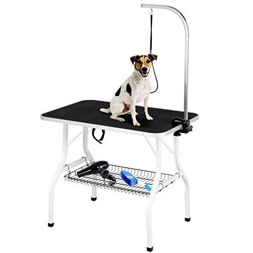 foldable pet grooming table