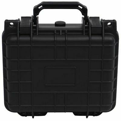 Protective Equipment Case Hard Carry Box Black