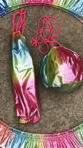 Rhythmic gymnastics holographic equipment cover/case/bag