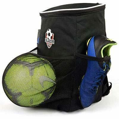 rogue iron soccer backpack blue logo sports