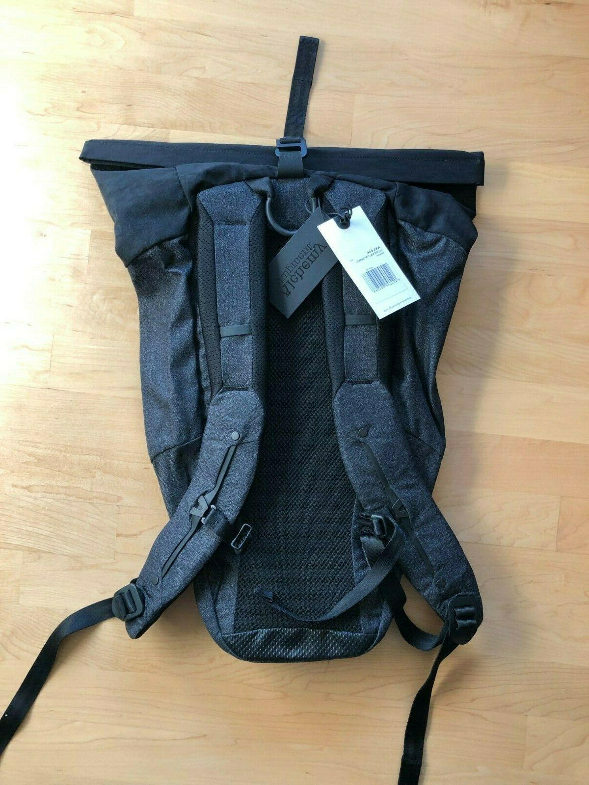 """Alchemy Roll Top 20L Backpack Sleeve 7.5"""" 15"""""""