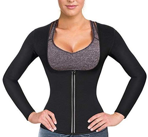 sauna suit waist trainer neoprene