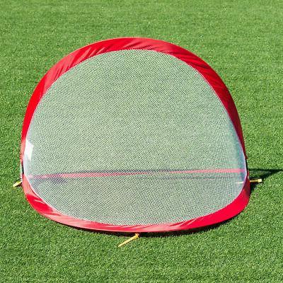 Set Portable 4' Soccer Set For Backyard Carrying Bag