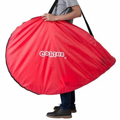 Set of 2 Portable 6' Soccer Goals Set Carrying Bag 6 Cones