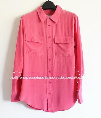 Equipment Shirt Pink, SZ