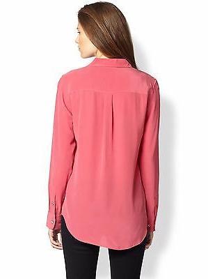 """Equipment Signature"""" Shirt Pink,"""