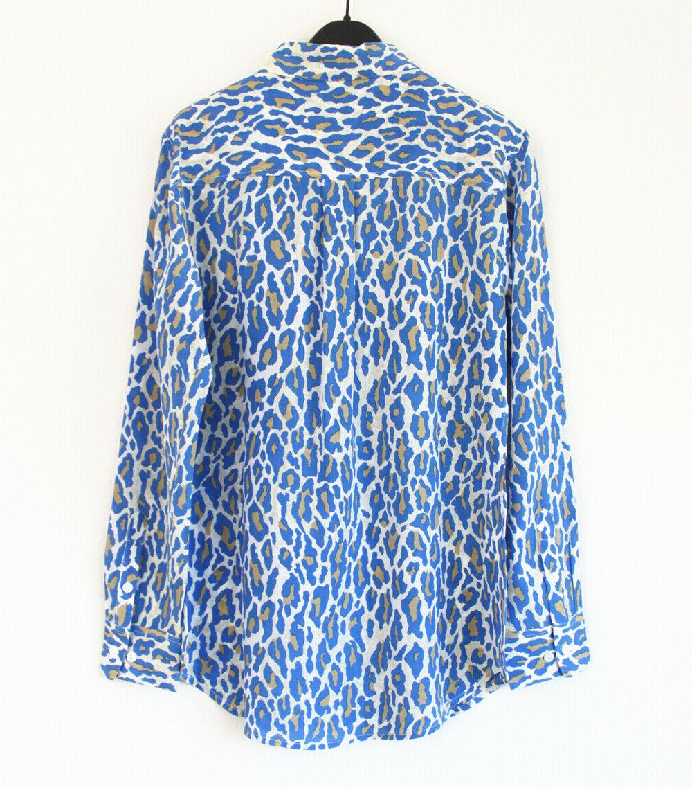 Equipment Signature Silk Shirt, Multi Archive Cheetah