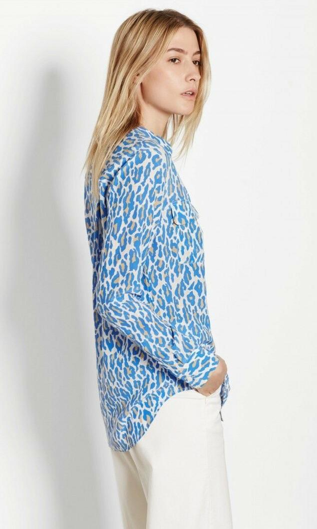 Equipment Silk Shirt, Multi Print,