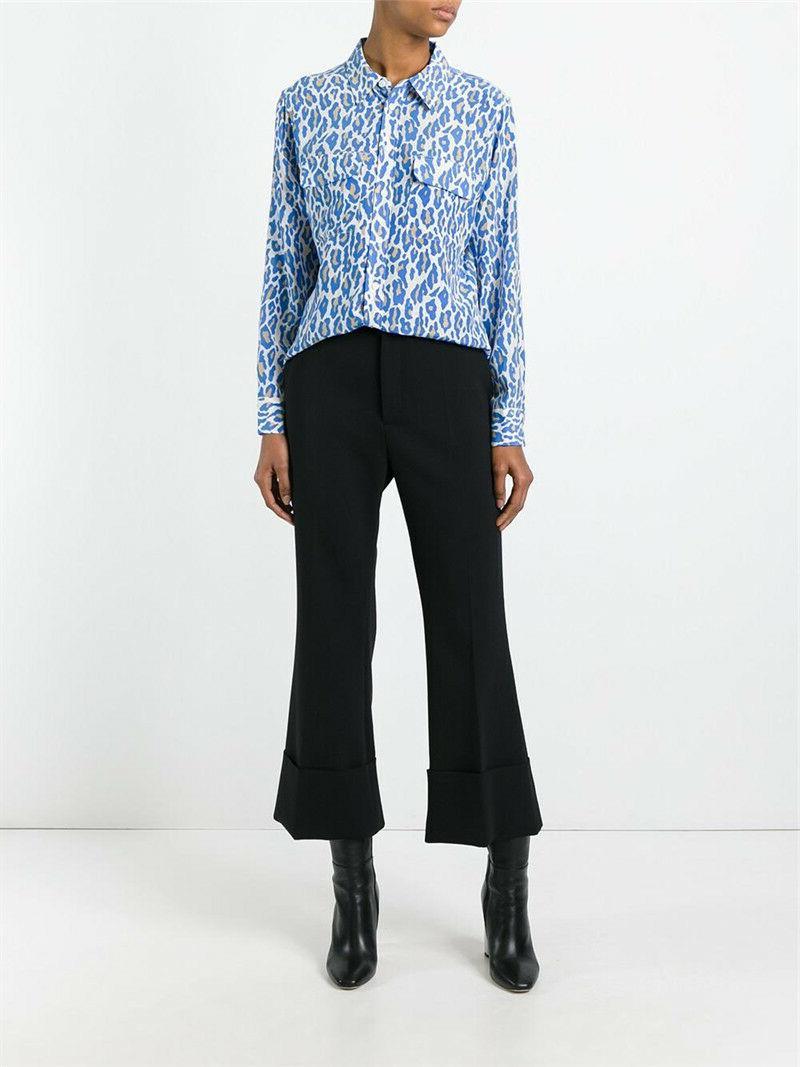slim signature silk shirt multi archive cheetah