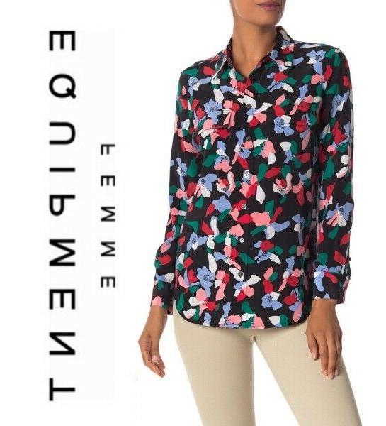 slim signature slik shirt blouse top in