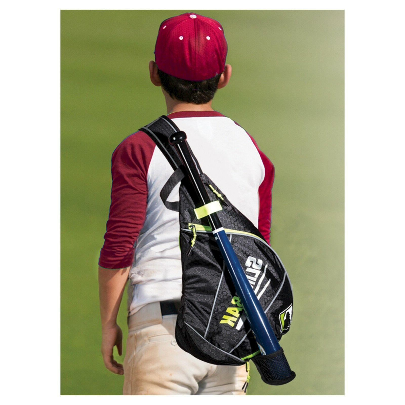 New Franklin Sports Kids Sling Pack Baseball Sports Equipmen