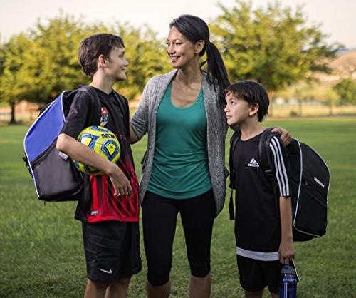 Soccer Backpack - Backpack Youth Ages - with - All Sports Gym Tote Basketball Football
