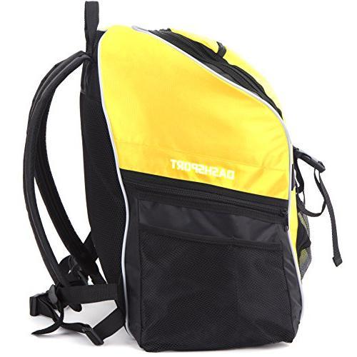 Soccer - Basketball Backpack - All Bag Gym Tote Soccer Futbol Basketball Volleyball