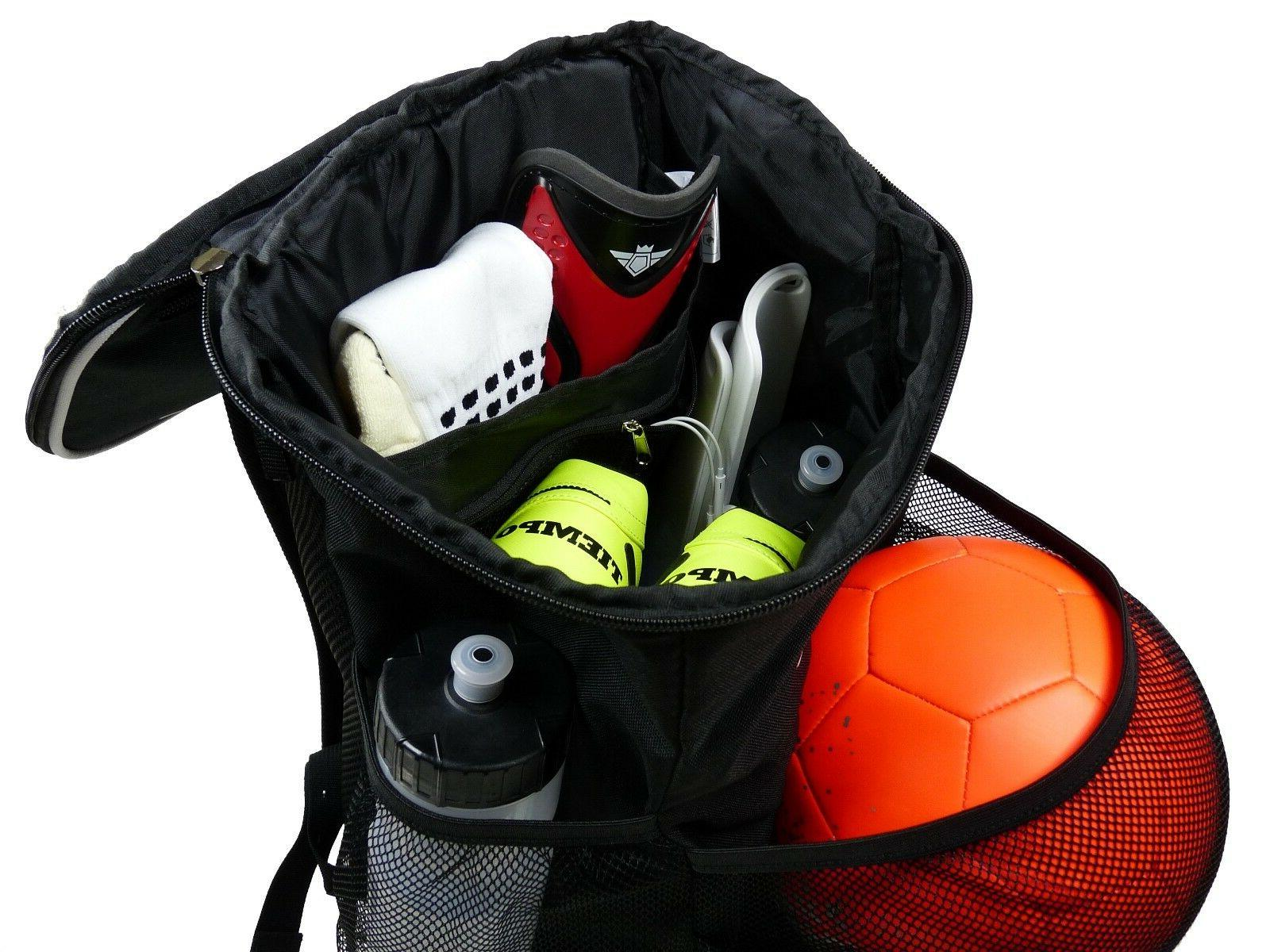 Soccer Backpack Ball Holder - Soccer for Boys & Girls