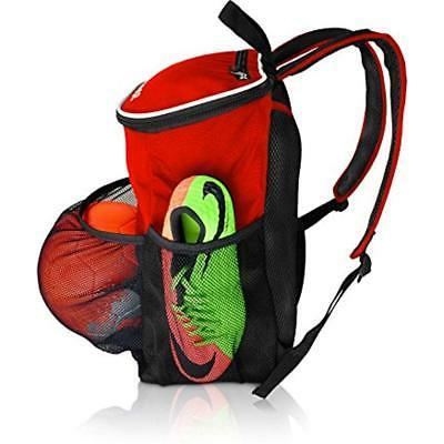 Soccer Backpack Holder Compartment Youth