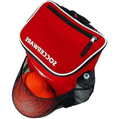 Soccer Backpack With Holder Youth Boys