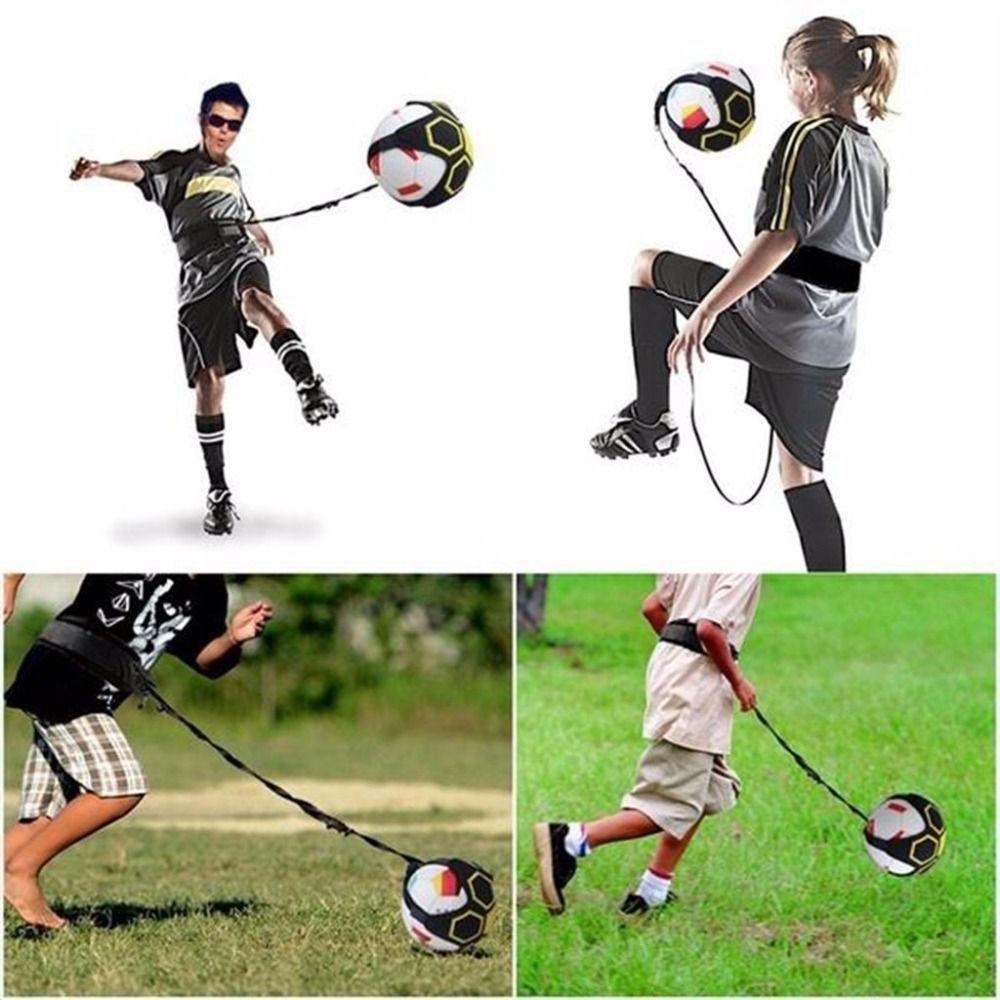 Soccer Ball Equipment Bags Children Circling Kick