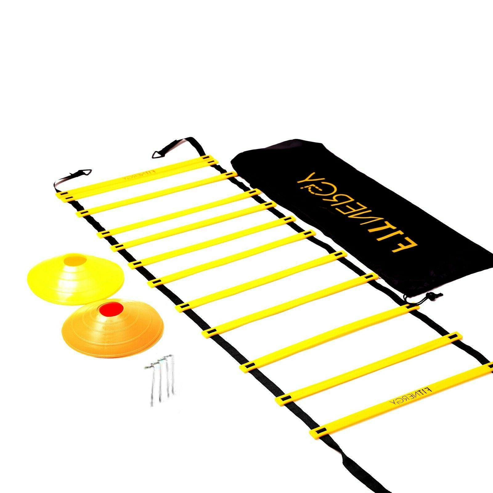 speed agility ladder training equipment by 12