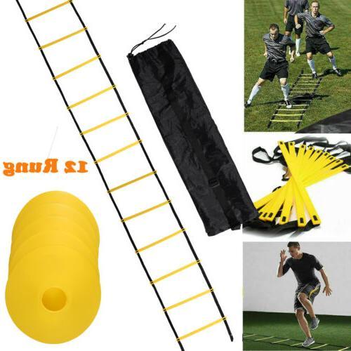 speed agility ladder training equipment footwork fitness