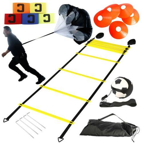 speed agility training set exercise equipment kit