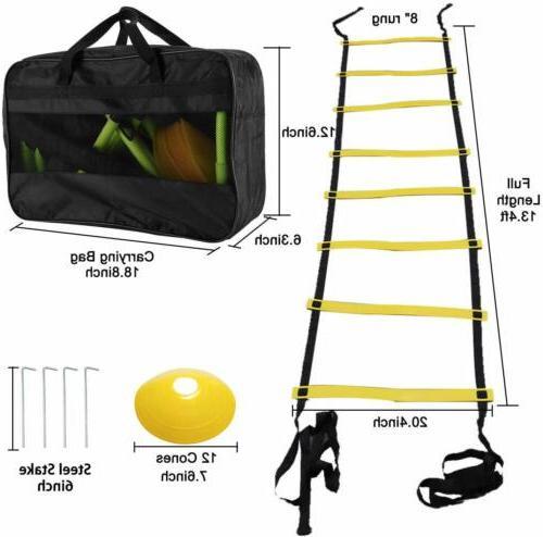 Speed Agility Training Set, Soccer Training Equipment Set, USA