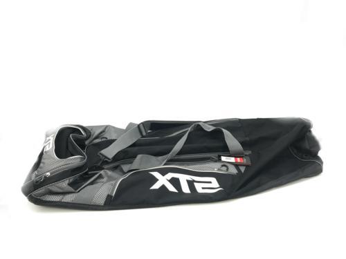stx lacrosse challenger equipment bag black new