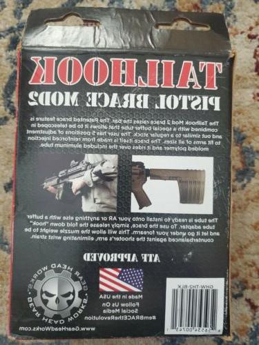 Gear head Pistol Mod Black