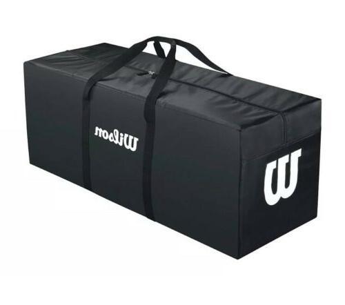 Wilson Team Equipment Sports Bag Large 40 x 15 x 15 Black Fo