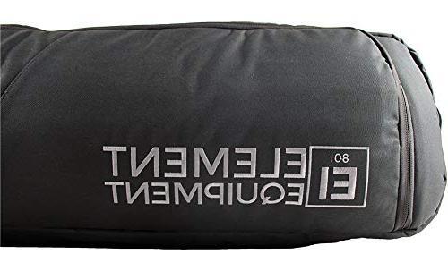 Element Equipment Tour Deluxe Padded Bag - Premium End Travel Bag 157 Black