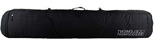 tour deluxe padded snowboard bag