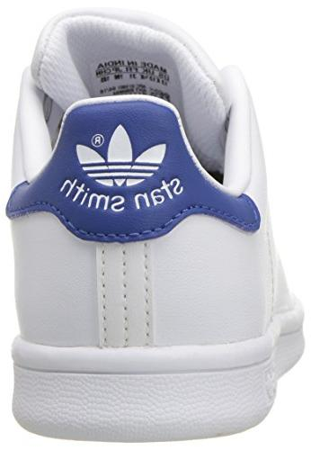 adidas Stan Smith C White/Equipment Blue, 2 US Little Kid