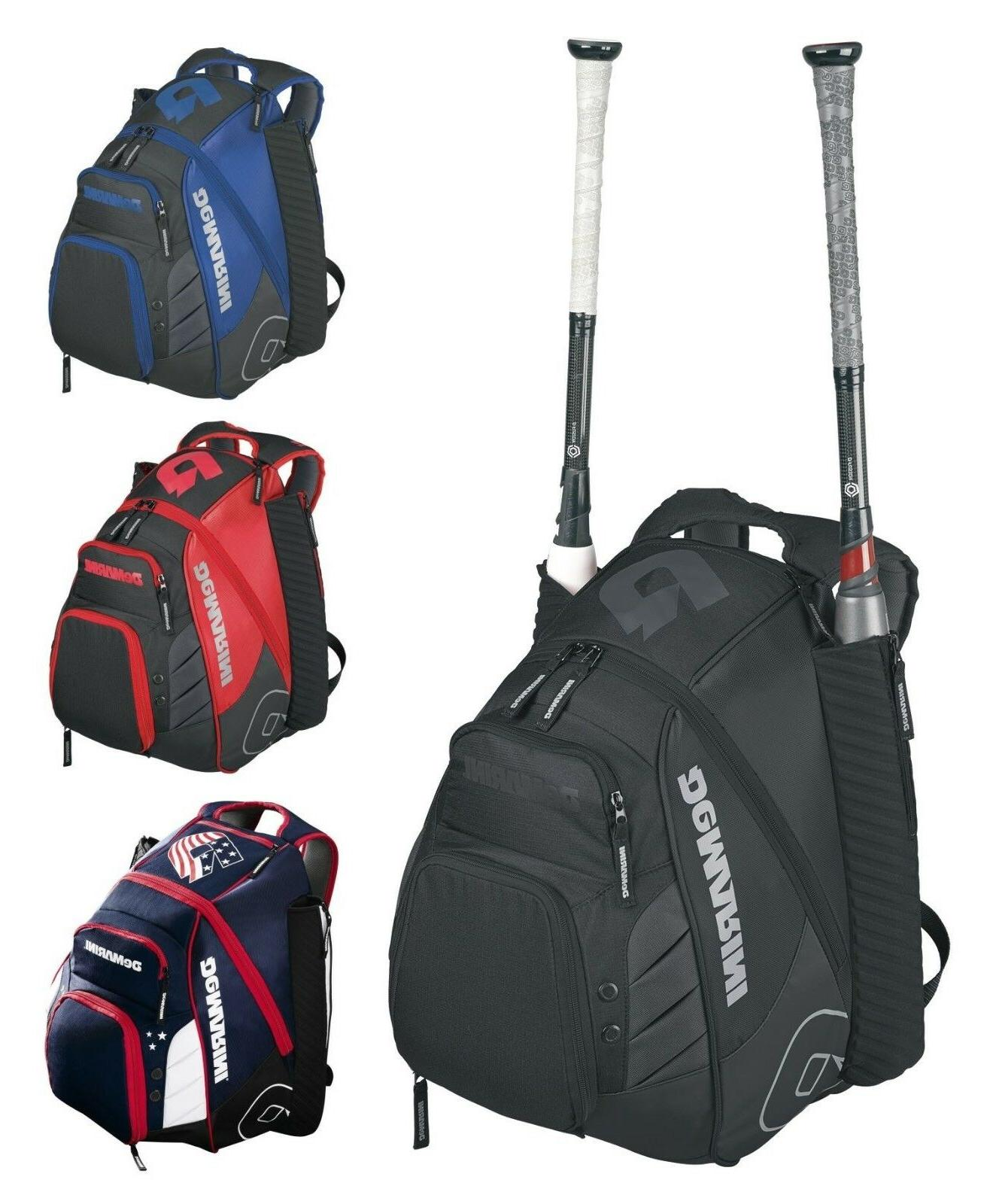 voodoo rebirth baseball softball backpack bat equipment