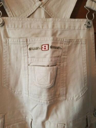 Vtg Equipment Jeans Overalls Sz