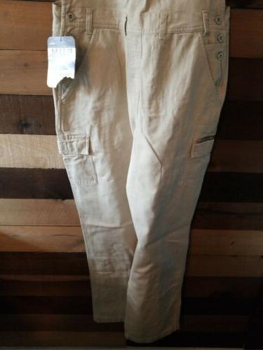 Vtg 90s Jeans Beige
