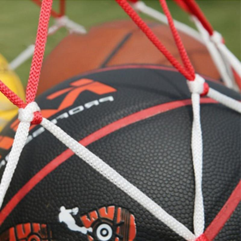 white-red cord sports ball Portable <font><b>Equipment</b></font> net