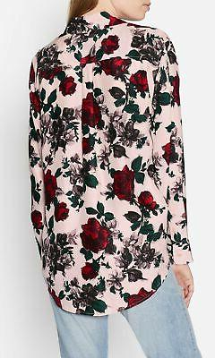 Equipment Signature Floral Silk Shirt Blouse