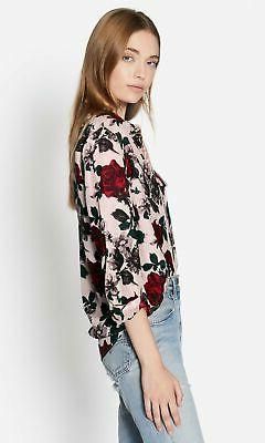 Equipment Floral Blouse
