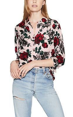 women s signature multi floral silk shirt
